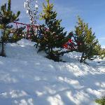 Cierro Oto estação de Ski pertinho do Hotel.