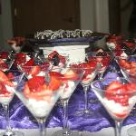 Individuals can customize their catered dinners and wedding receptions.