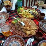 Grigliata mista di carne con verdure