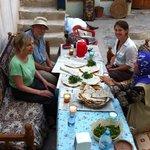 dinner in lizbon guest house