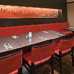 Enjoy your meal surrounded by our beautiful art and decor