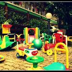 I giochi in giardino
