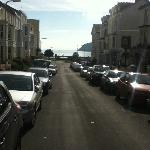 View to Promenade from front of B&B