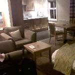 il salotto della camera (eravamo nella dependace)