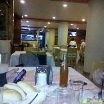 La comida en el restaurante Mayaland es muy rica