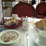 Le petit-déjeuner