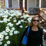 Front porch and flowers