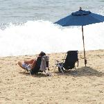 Incredible private beach - busy time of year in Montauk, only saw about 20 people tops on the be