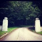 One of the entrances to Hope Cemetery
