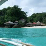 view from island hopping