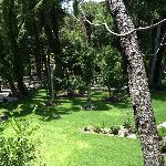 Beautiful gardens, you can walk around and have a peaceful stroll