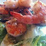 Salad with Grilled Shrimp