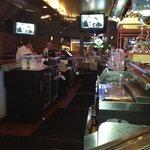 half of the bar