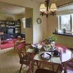 Open plan living/ dining