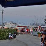 Vue sur le port