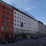Het hotel vanaf de straat