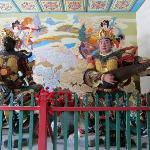 Temple guardian figures