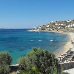 beach at Mykonos Grand