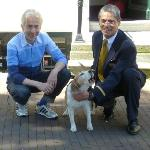 Peter & Wolter with Tommie July 2012