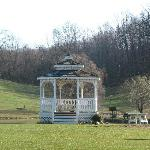 The beautiful gazebo. Perfect for picture-taking, or just relaxing.