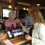 Wine Tasting. If you can find this woman there, she is the one who is amazing!!