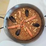 Paella for one person