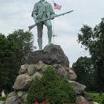 Minuteman Statue at Minuteman Bridge