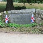 Memorial to British who died in battle
