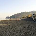 Direttamente sul mare, con discesa privata in spiaggia