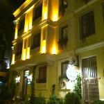 Sultans Royal Hotel at Night