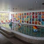 Indoor kids pool