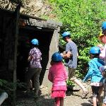 The silver mine entrance