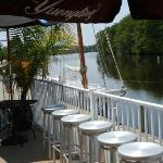 Riverside Grill- View of the Pocomke River from outside deck