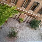 Courtyard from room