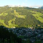 View over Schladming towards the Planai