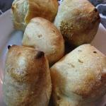bocconcini di pane caldi