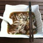 Pho Hanoi - i couldn't finish the bowl !