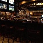 the bar area