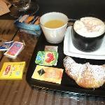 petit déjeuner copieux