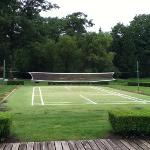 Badminton court at Maddens