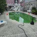 Green Pool. Staff said it OK for use.