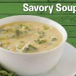 Check our web site for a schedule of savory soups.