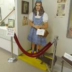 Dorothy statue at the museum!!