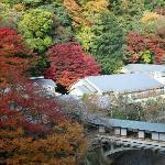 游月山荘秋の風景