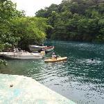blue lagoon boat dock