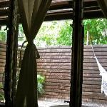 the room's patio