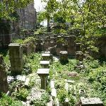 Ruins behind Karakol Cafe.