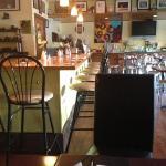 diner like setting.