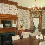 Other wall of dinning room