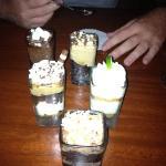 Just a few of the amazing mini desserts!